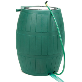 ... Achla 75-Gallon Green Plastic Rain Barrel with Spigot at Lowes.com