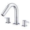 Danze Amalfi 2-Handle Adjustable Deck Mount Tub Faucet