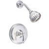 Danze Fairmont Chrome 1-Handle Shower Faucet Trim Kit with Single Function Showerhead