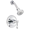Danze Eastham Chrome 1-Handle Shower Faucet Trim Kit with Single Function Showerhead