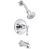 Danze Eastham Chrome 1-Handle Bathtub and Shower Faucet Trim Kit with Single Function Showerhead