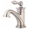 Danze Prince Brushed Nickel 1-Handle Single Hole WaterSense Bathroom Faucet (Drain Included)