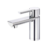 Danze Adonis Chrome 1-Handle Single Hole WaterSense Bathroom Faucet (Drain Included)