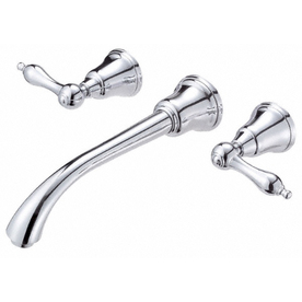 Danze Fairmont Chrome 2-Handle Widespread WaterSense Bathroom Sink Faucet (Drain Included)