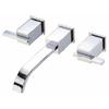 Danze Sirius Chrome 2-Handle Widespread WaterSense Bathroom Sink Faucet (Drain Included)