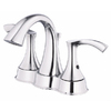 Danze Antioch Chrome 2-Handle 4-in Centerset WaterSense Bathroom Sink Faucet (Drain Included)