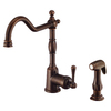 Danze Opulence 1-Handle High-Arc Kitchen Faucet with Side Spray