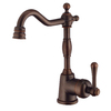 Danze Opulence Tumbled Bronze 1-Handle Bar and Prep Faucet