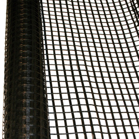 Hanes Geo Components Terragrid 150-ft x 12-ft Black Uniaxial Geogrid