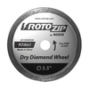 RotoZip Dry Diamond Zipwheel for Ceramic Tile