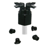 Mister Landscaper 4-Port NPT Irrigation Manifold with Filter