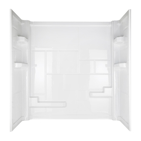 "American Standard Inc DTS3636FR Direct To Stud Wall 36""X36"" - White"