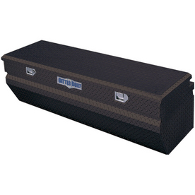 Better Built 60-in x 20-in x 18-in Black Powder Coat Aluminum Universal Truck Tool Box