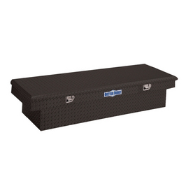 Better Built 48-in Black Aluminum Truck Tool Box