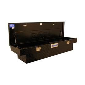 Better Built Mid-Size Black Aluminum Truck Tool Box