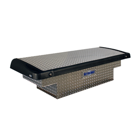 Better Built 5-ft 9-in x 20-in x 13-3/4-in Silver Aluminum Full-Size Truck Tool Box