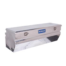 Kobalt 56-in x 20-in x 18-in Aluminum Universal Truck Tool Box