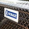 Kobalt 69-in x 20-in x 13-in Black Powder Coat Aluminum Full-Size Truck Tool Box