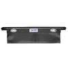 Kobalt 69-in x 19-in x 18-in Black Powder Coat Aluminum Full-Size Truck Tool Box