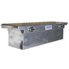 Kobalt 69-in x 20-in x 19-in Raw Aluminum Full-Size Truck Tool Box