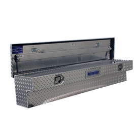 Better Built Universal Silver Aluminum Truck Tool Box