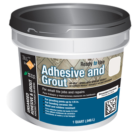 Shop Tec 1 Quart Trowel Tile Adhesive At Lowes Com