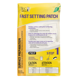TEC Skill Set 25 Lbs. Floor Patch Surface Preparation