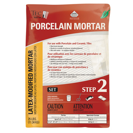 TEC Skill Set 50 lbs Gray Powder Polymer-Modified Mortar