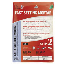 TEC Skill Set 25 lbs Gray Powder Polymer-Modified Mortar