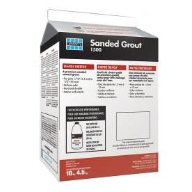 LATICRETE 10 lbs. Midnight Black Sanded Powder Grout