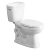 AquaSource All-In-One White 1.28-GPF (4.85-LPF) 12-in Rough-in WaterSense Elongated 2-Piece Comfort Height Toilet