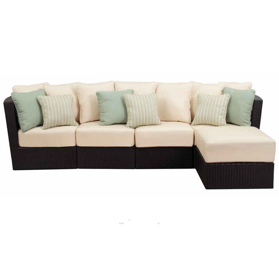 Shop Foremost Casual 5 Piece Tremblay Aluminum Cushioned