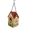 Jim Shore 7.75-in H x 4.5-in W x 4.625-in D Multicolor Bird House