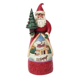 Jim Shore Freestanding Santa Indoor Christmas Decoration