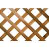 Wood Cedar Traditional Lattice (Actual: 0.5-in)