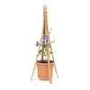 Garden Treasures 24-in W x 52-in H Natural Obelisk Garden Trellis