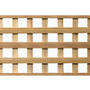 4' x 8' Cedar Square Wood Lattice