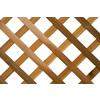 Wood Cedar Traditional Lattice (Actual: 0.375-in)