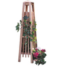 Garden Architecture 14-in W x 56-in H Natural Art Deco Garden Trellis