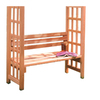 Garden Architecture Natural Western Red Cedar Arbor Seat