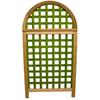 Garden Architecture 36.25-in W x 66.75-in H Natural Arched Landscape Screen Garden Trellis
