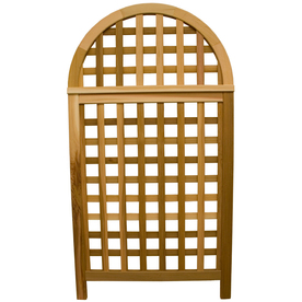 Garden Architecture 36.25-in W x 66.75-in H Natural Trellis