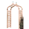 Garden Architecture 48-in W x 89.5-in H Natural Moorish Style Arch Garden Arbor