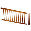 Top Choice Instarail Natural Western Cedar Deck Railing Kit (Assembled: 5.77-ft x 3-ft)