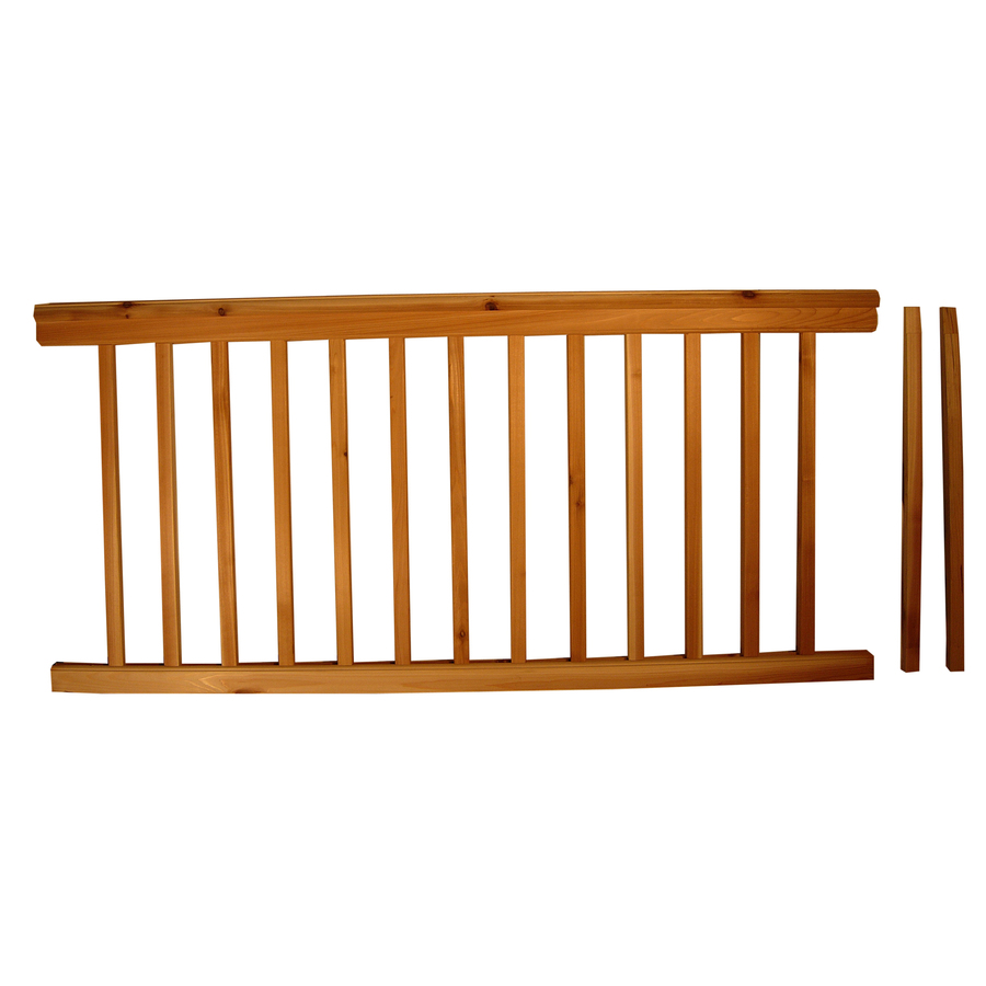 Vinyl deck railing systems lowes images frompo - Vinyl deck railing lowes ...