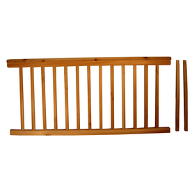 Top Choice 72-in Redwood Deck Railing System