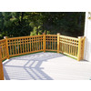 Top Choice Natural Western Cedar Deck Handrail (Common: x 6-ft; Actual: 1.375-in x 3.25-in x 6-ft)