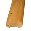 Top Choice Cedar Deck Railing (Common: 2-in x 4-in x 6-ft; Actual: 1.375-in x 3.25-in x 6-ft)