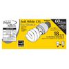 Utilitech 18-Pack 13-Watt (60W) Spiral Medium Base Soft White (2700K) CFL Bulbs ENERGY STAR