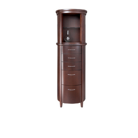 wenge linen storage cabinet from lowes cabinets bathroom furniture
